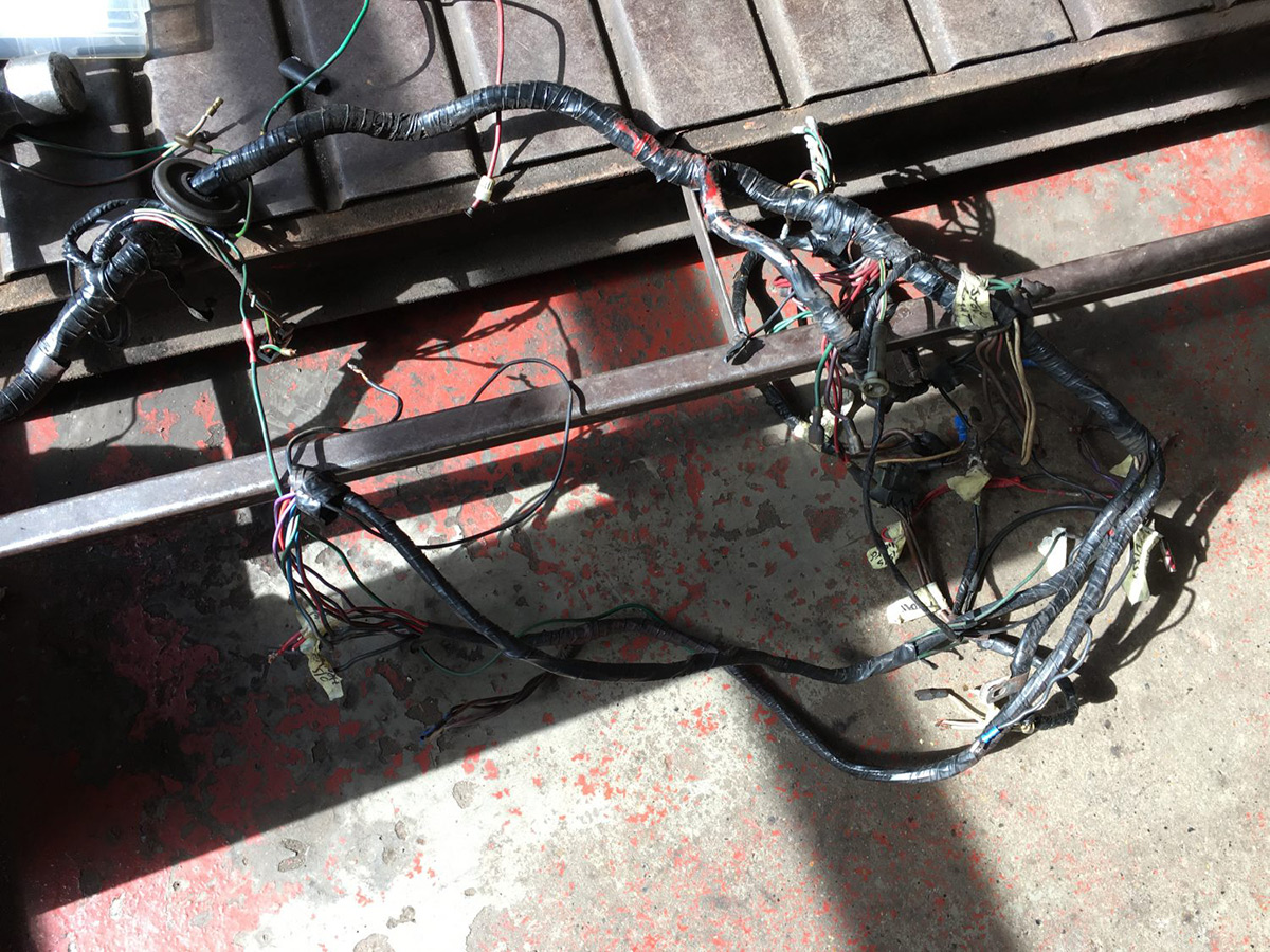 Fitting A New Wiring Loom Bridge Classic Cars Cover Lot Of Our Customers Have Products In Storage Themselves Or Choose To Buy Their Own Components This Is Not Problem Us Providing You The Right