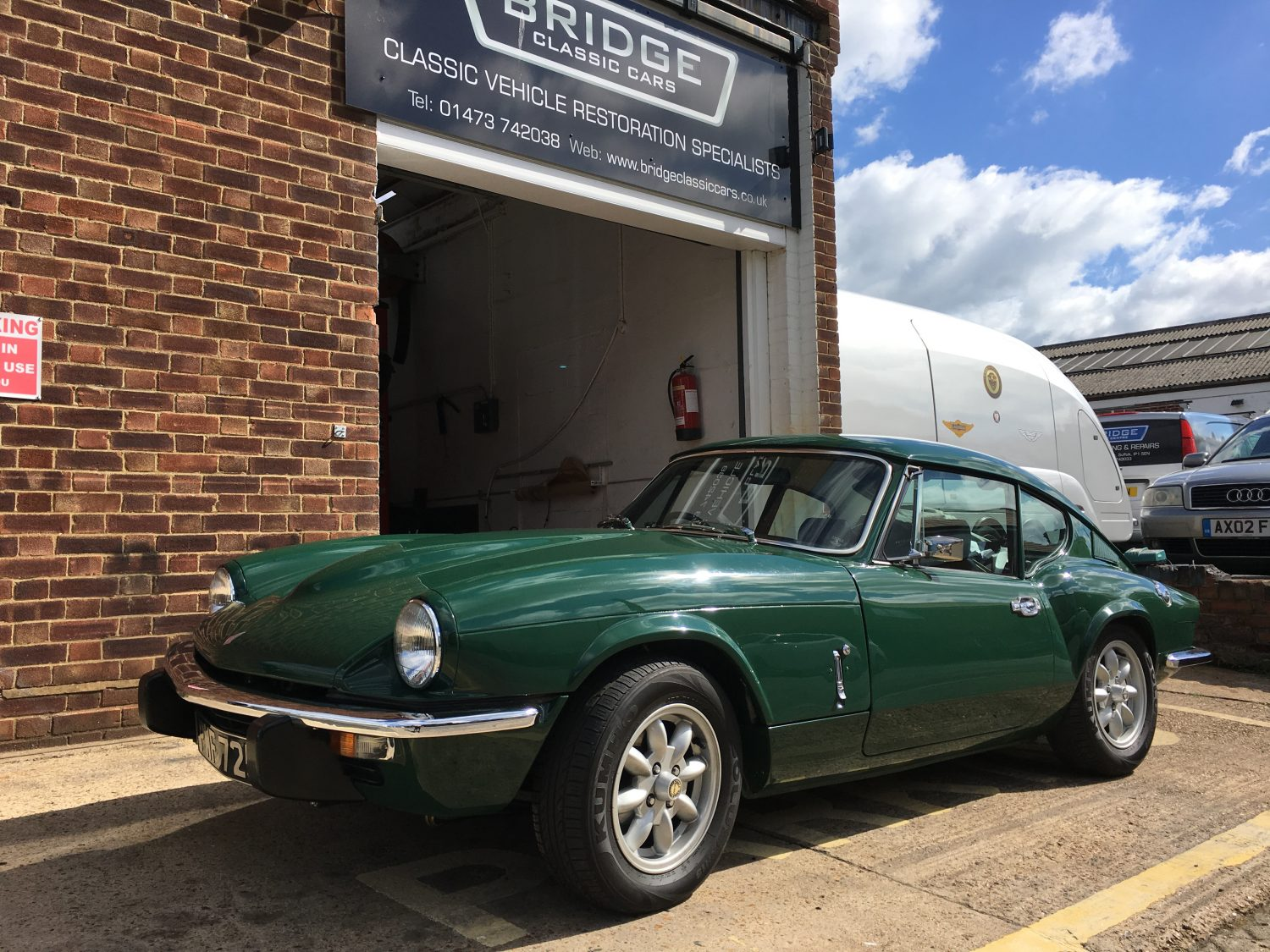 Phase 1 of our Triumph GT6 project complete - Bridge Classic Cars