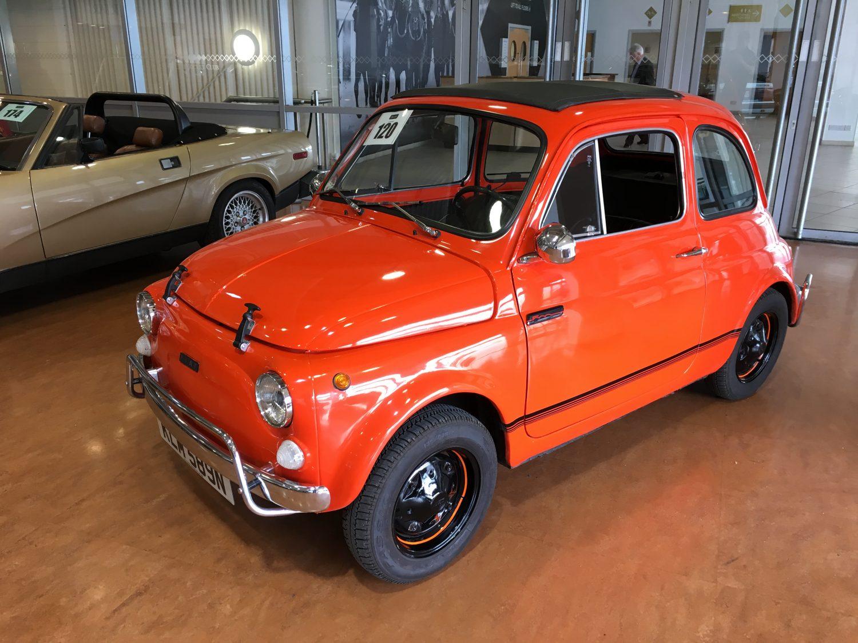 Baron's Car Auction - Sandown - 1975 Fiat 500R - Bridge ...