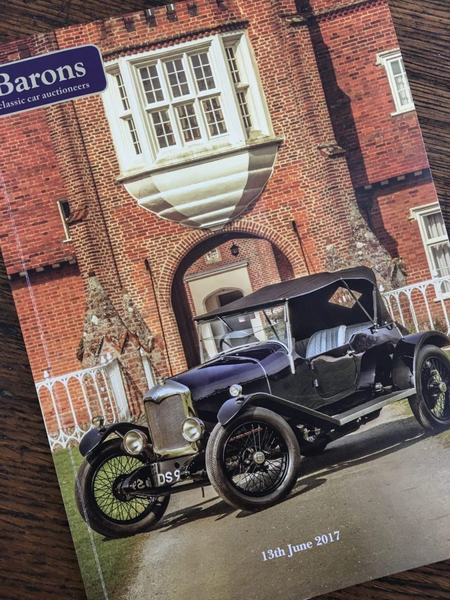 Barons British Heritage, Classic and Sports Cars Auction Brochure – June 2017