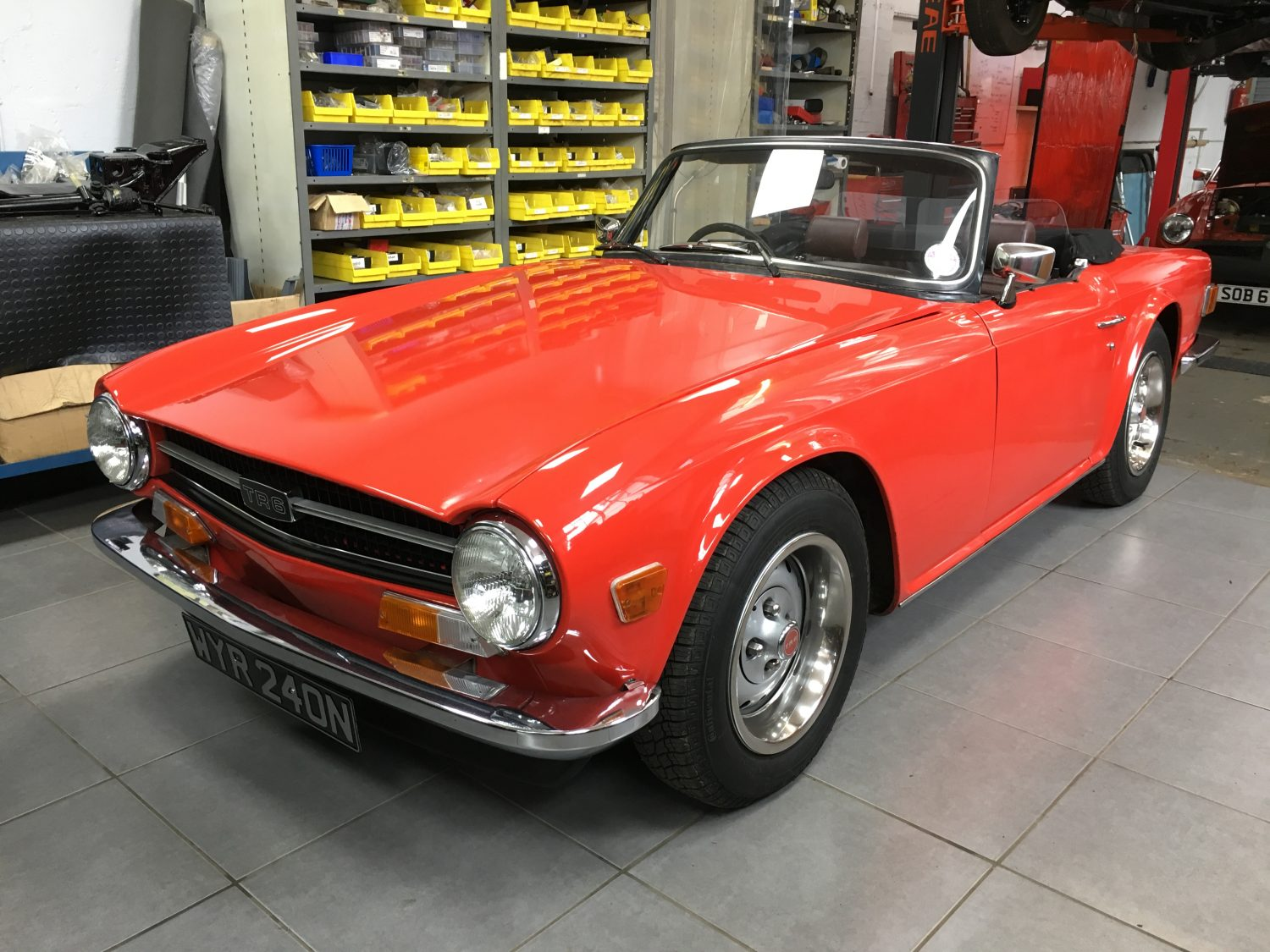 Running Issues On Our 1974 Triumph Tr6 Bridge Classic Cars