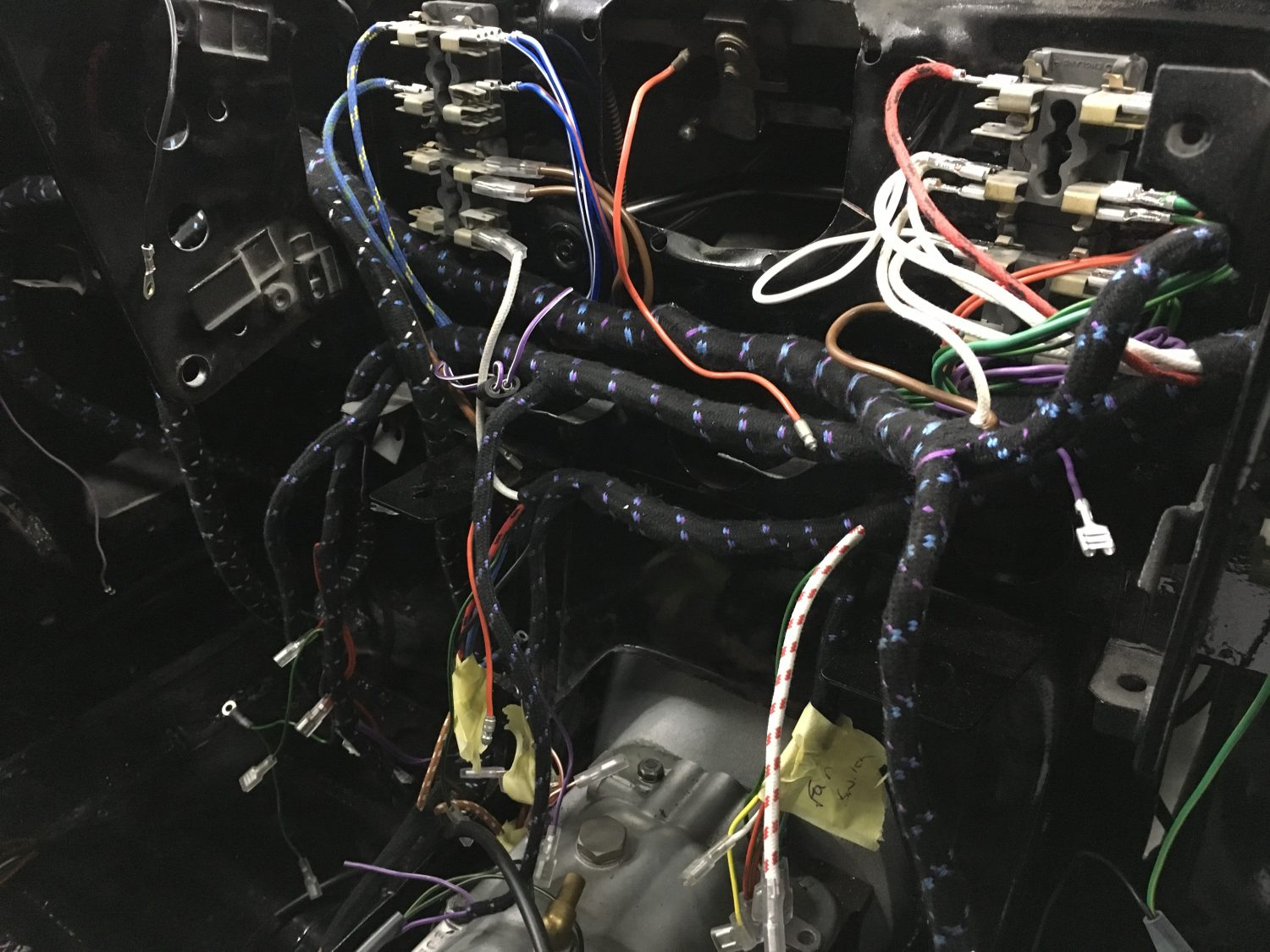 Jaguar E Type Wiring Harness - Wiring Diagrams Hidden on