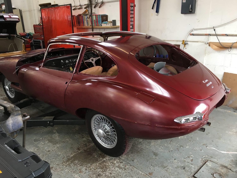 1966 Jaguar E-Type 2+2 Series 1 - Bridge Classic Cars