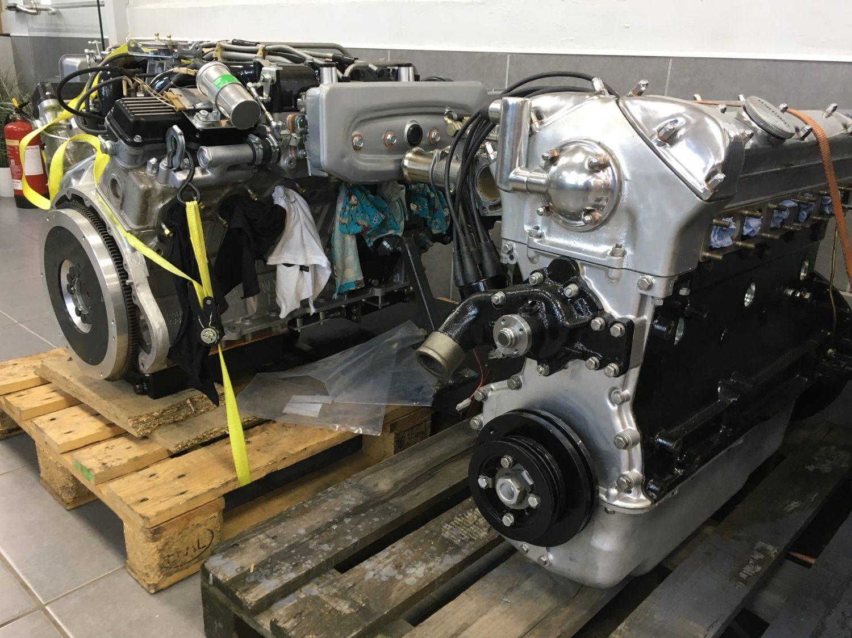 Our Jaguar E-Type Racing Engine