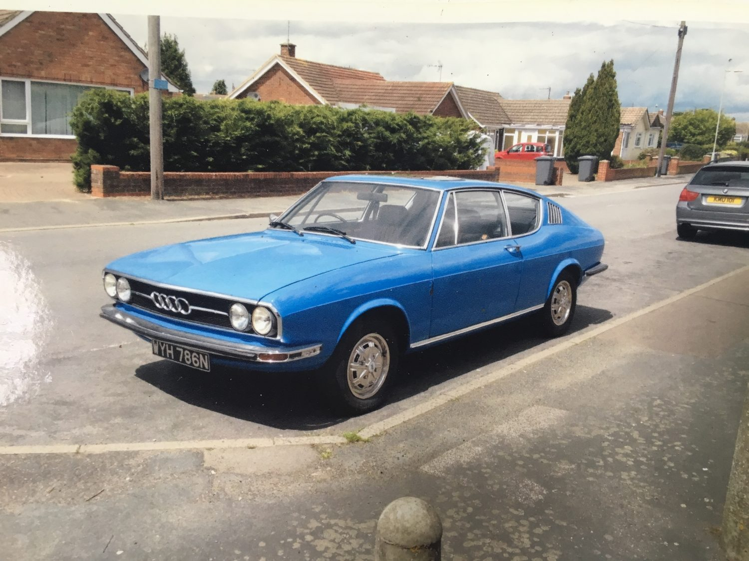 Coming in soon for restoration – 1974 Audi 100