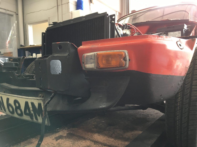 Tidying The Underside Of The Body Bridge Classic Cars