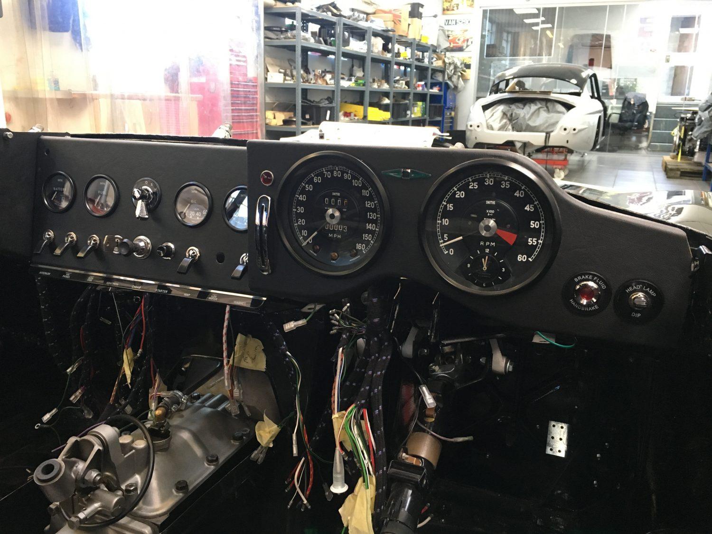 Fitting Up The E Type Dash Bridge Classic Cars