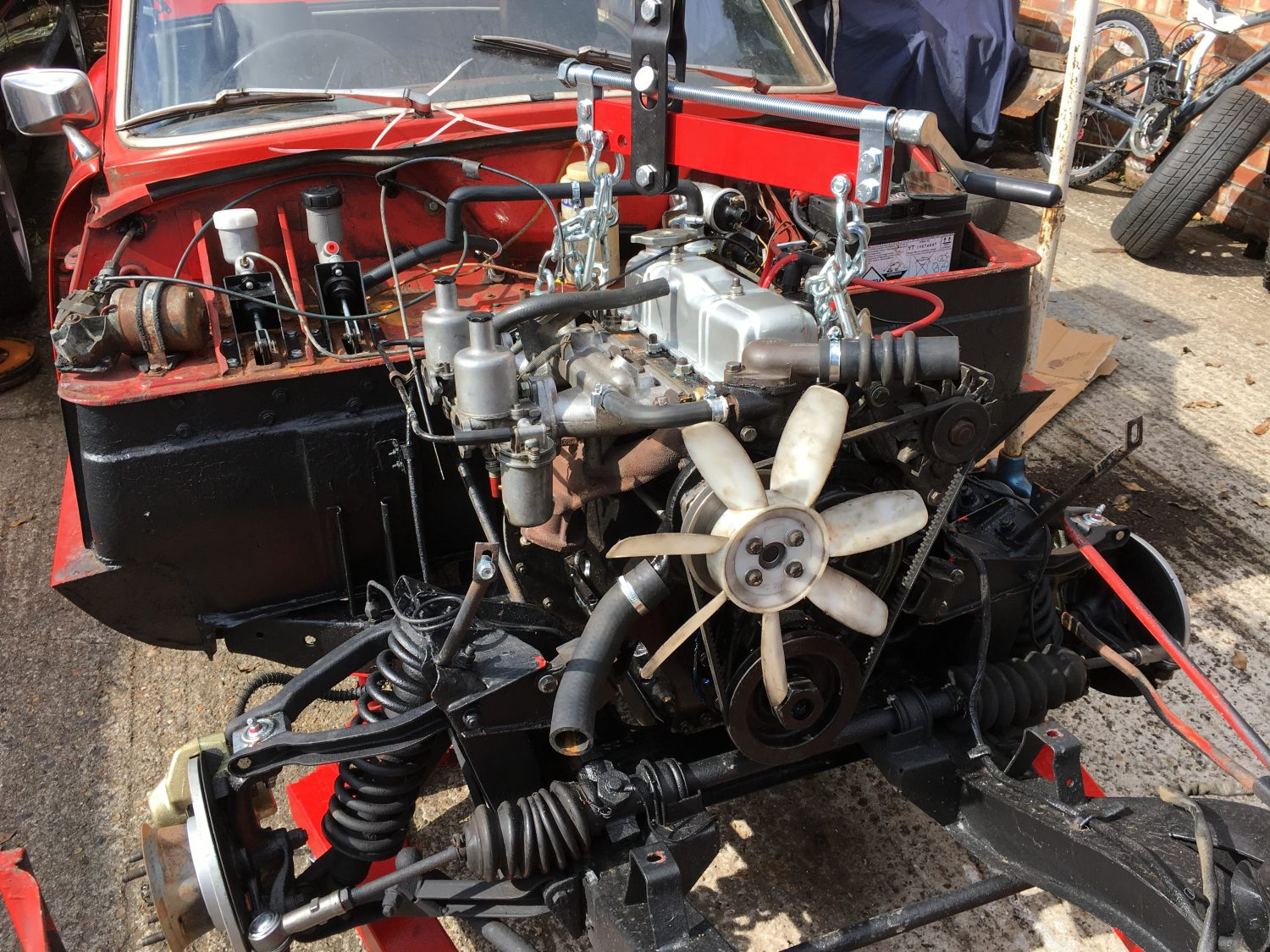 Engine Rebuild Cost >> Refitting our rebuilt 1974 engine - Bridge Classic Cars