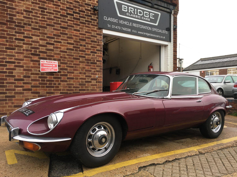 1973 Jaguar E-Type 2+2 Series 3 WWB493L