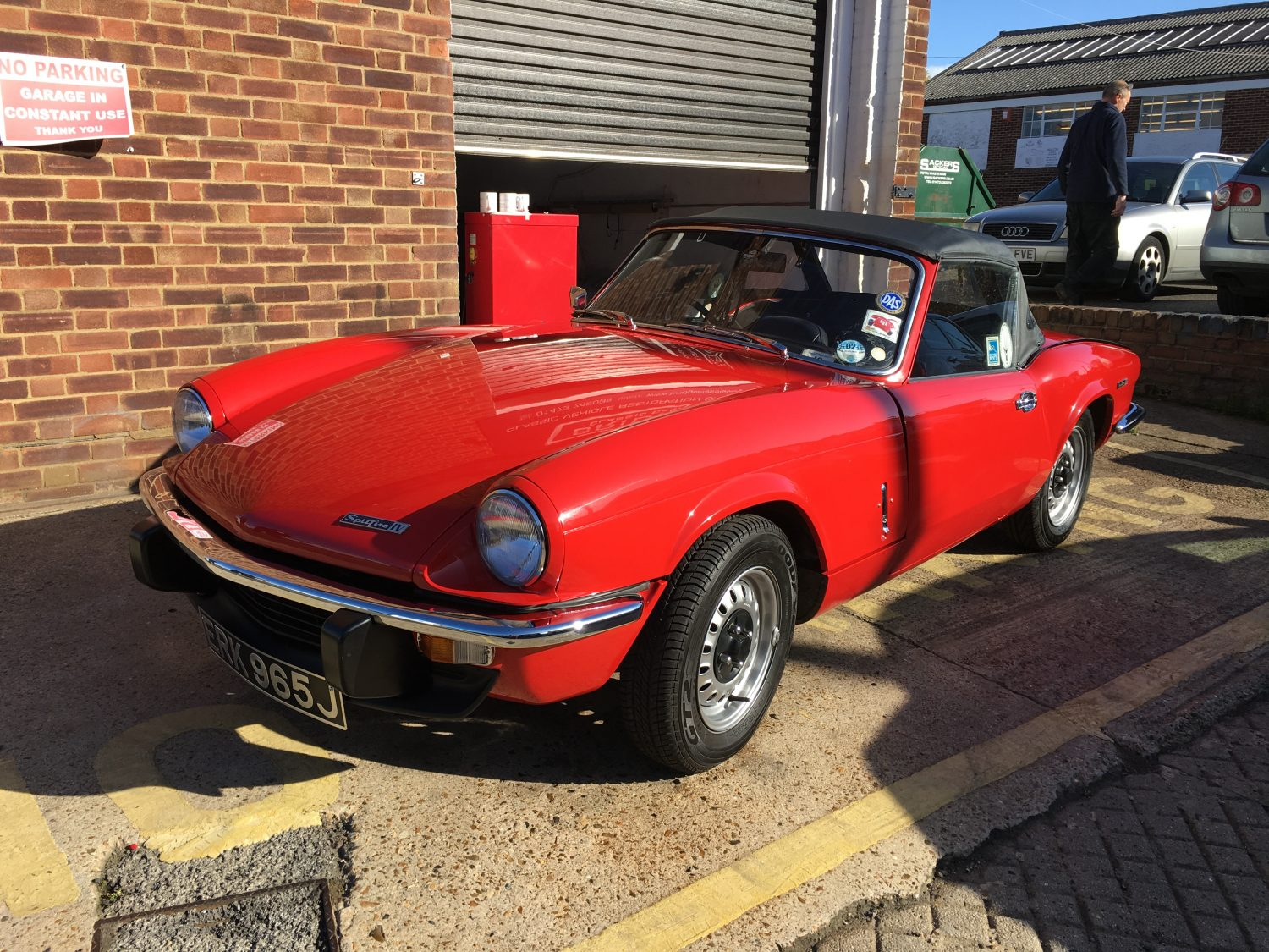 1971 triumph spitfire all done and ready to go home bridge classic cars. Black Bedroom Furniture Sets. Home Design Ideas