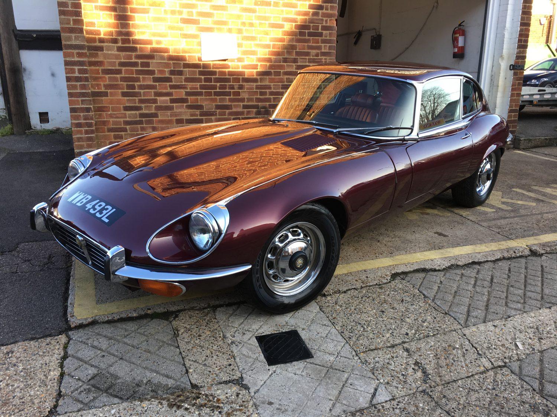 1973 Jaguar E Type Service And Detailed Bridge Classic Cars