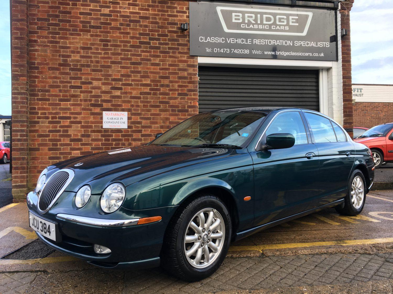 2002 Jaguar S-Type - Bridge Classic Cars