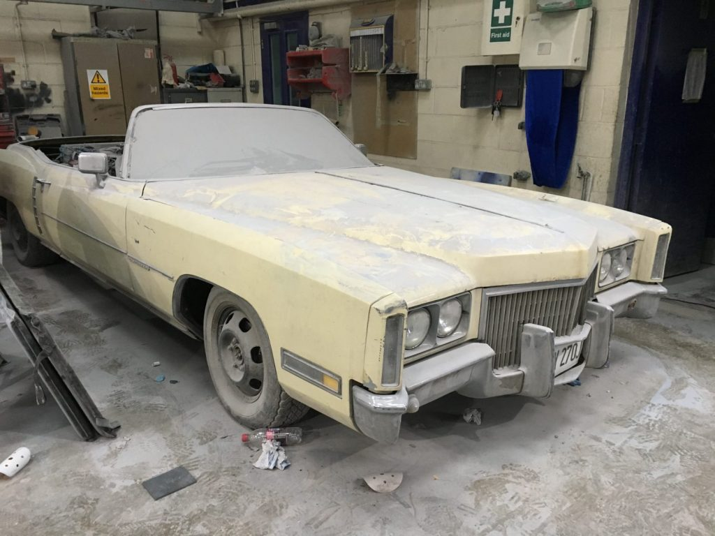 Work is now underway on our Cadillac