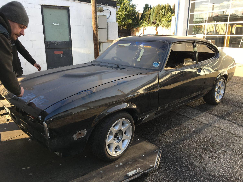 Ford Capri Off To Paint Bridge Classic Cars