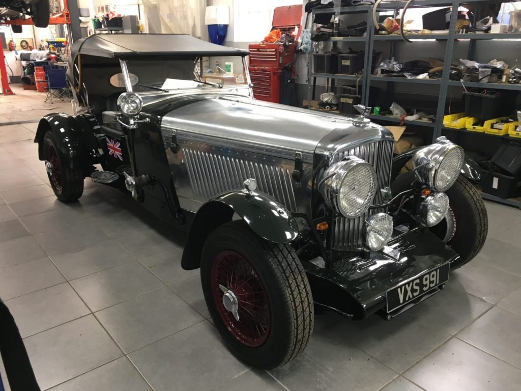 1949 Bentley Special Mk VI in our workshops