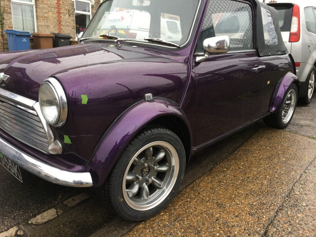 1971 Mini Sports Pack Fitting Complete