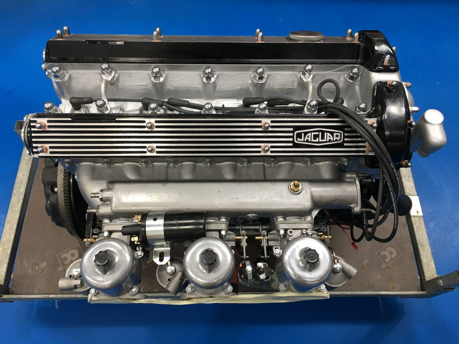 1969 Jaguar E-Type Engine