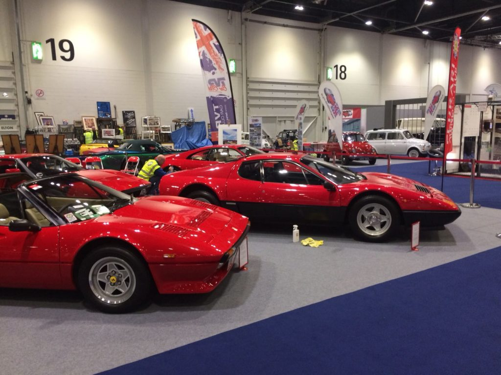 The London Classic Car Show 2018