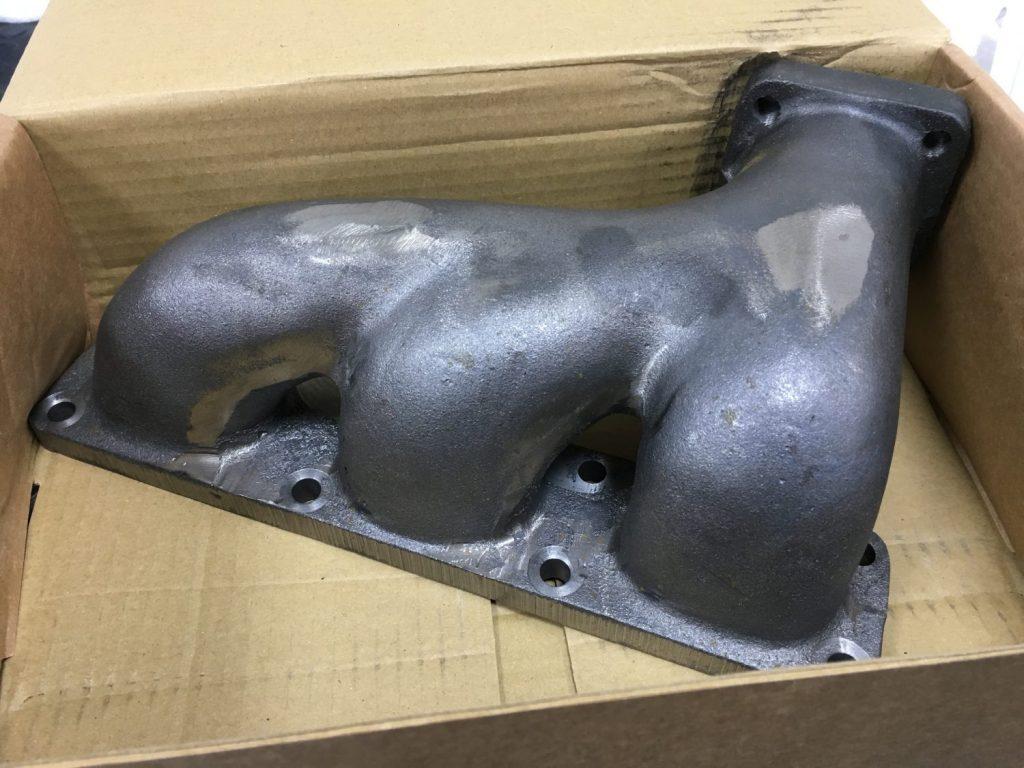 Heat-proofing the Jaguar E-Type Manifolds