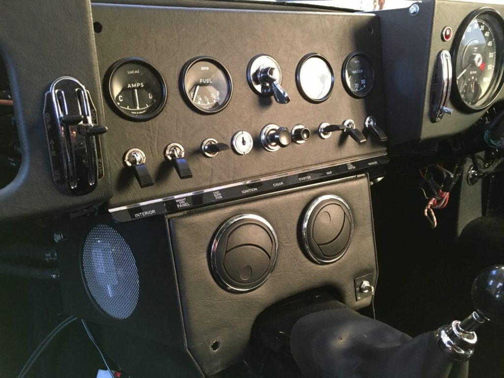 The E-Type Interior Refit