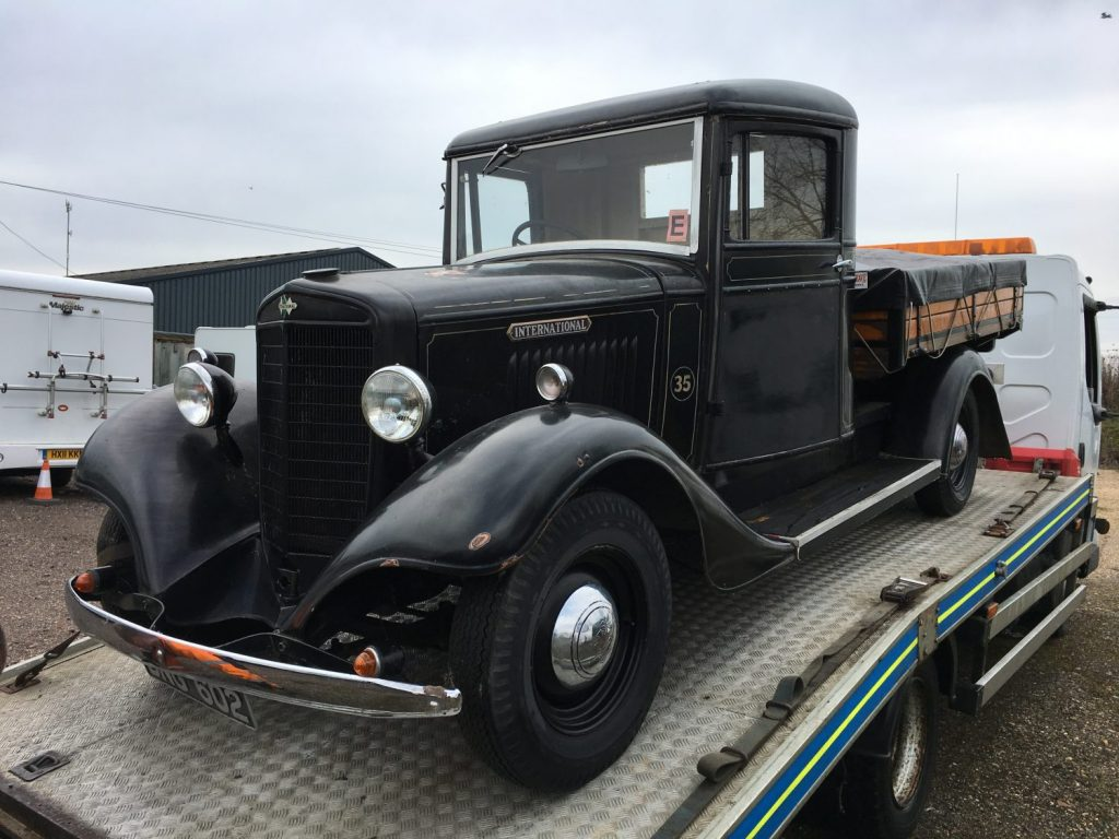 Collection day – 1937 International, 1957 Ford F100