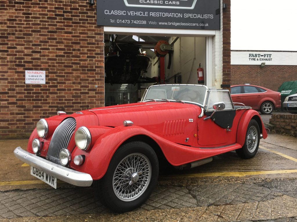 1990 Morgan 4/4 – getting summer ready