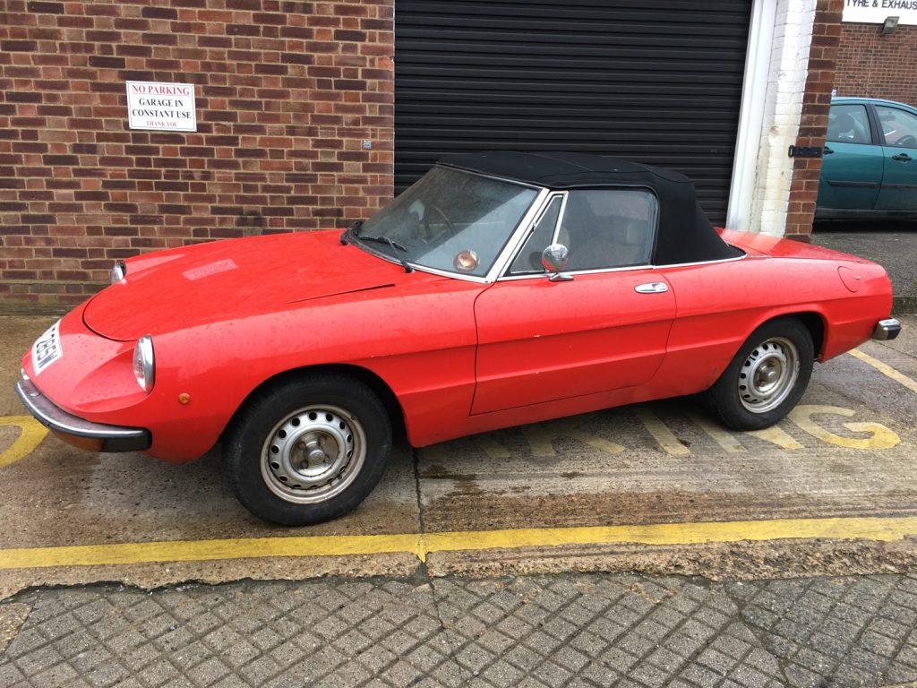 1981 Alfa Spider 2000