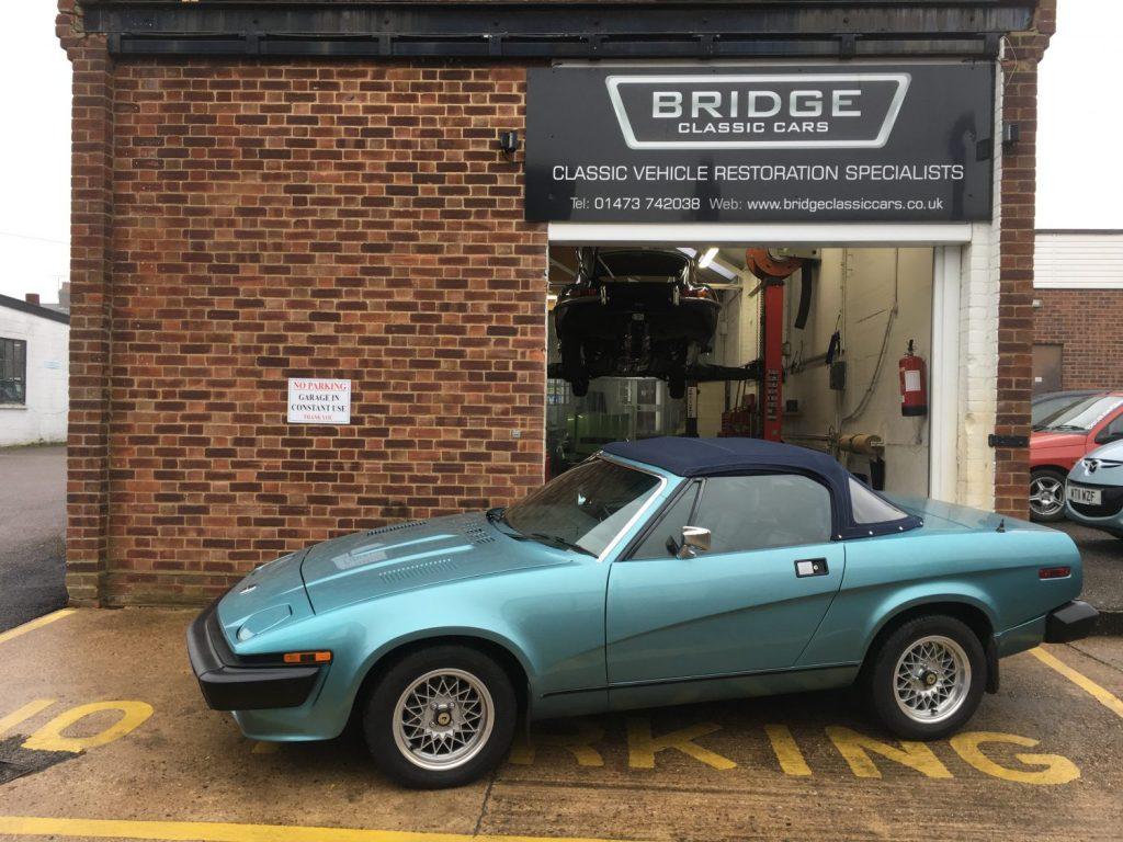 1981 Triumph TR7 V8 - MOT and Service - Bridge Classic Cars