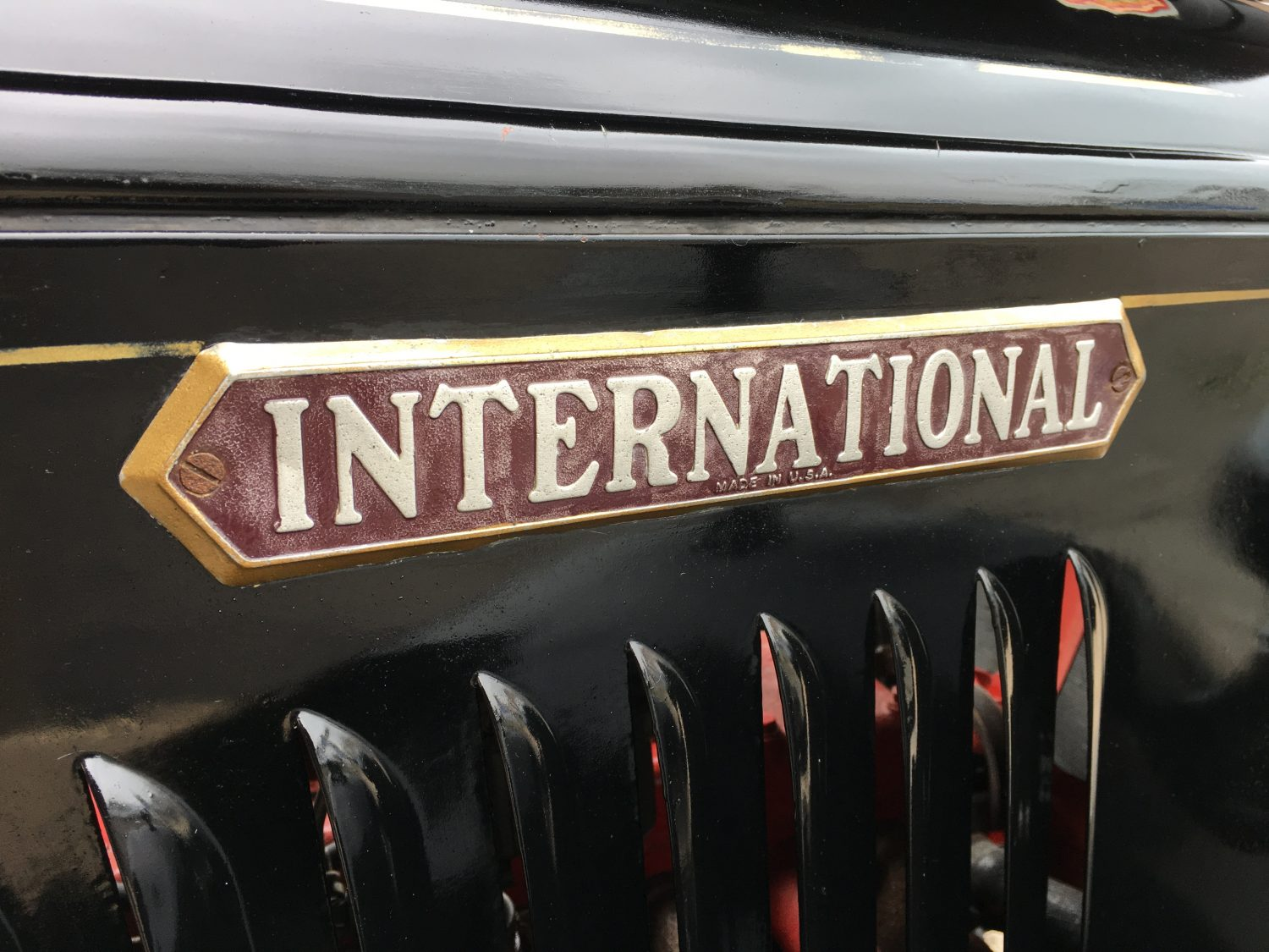 1937 International Harvester C1 Flat Bed Truck BNG602