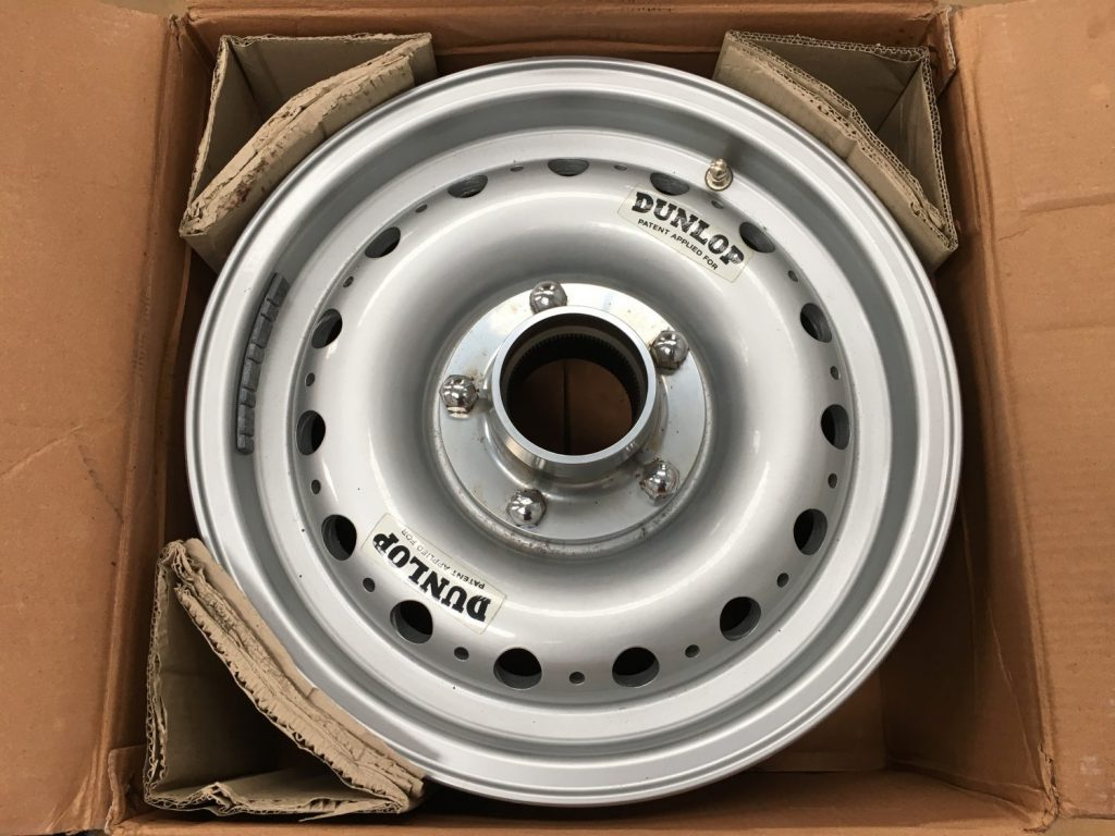 Our Dunlop Mag Racing wheels have arrived