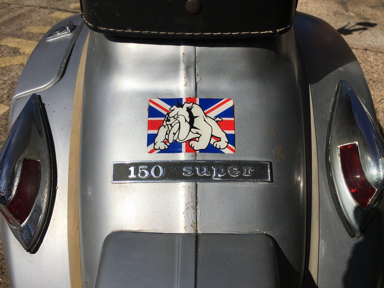1975 Vespa (Douglas) Scooter KRT186P