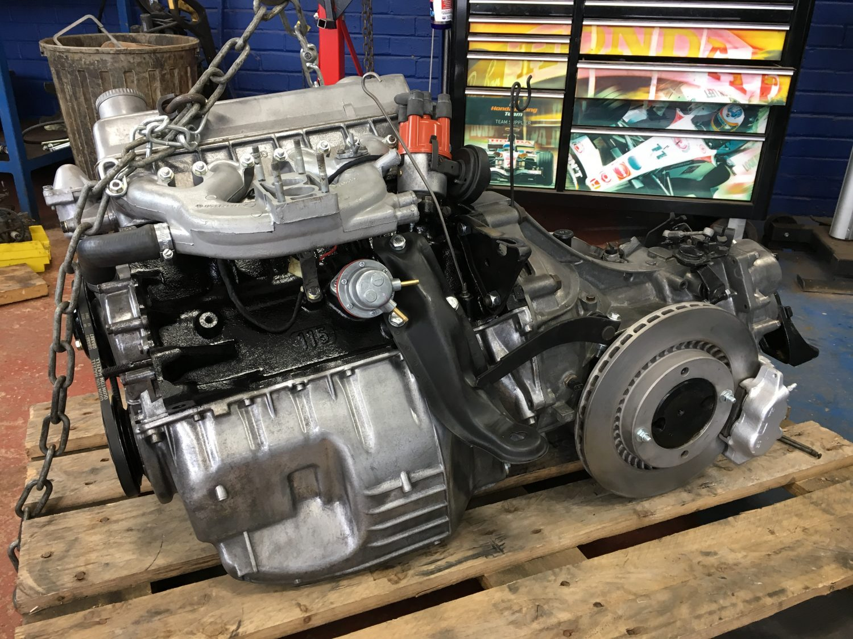 Refurbishing and detailing the engine