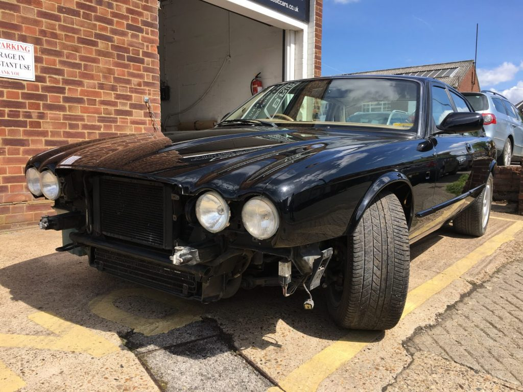 1996 Jaguar XJR returns from the paintshop