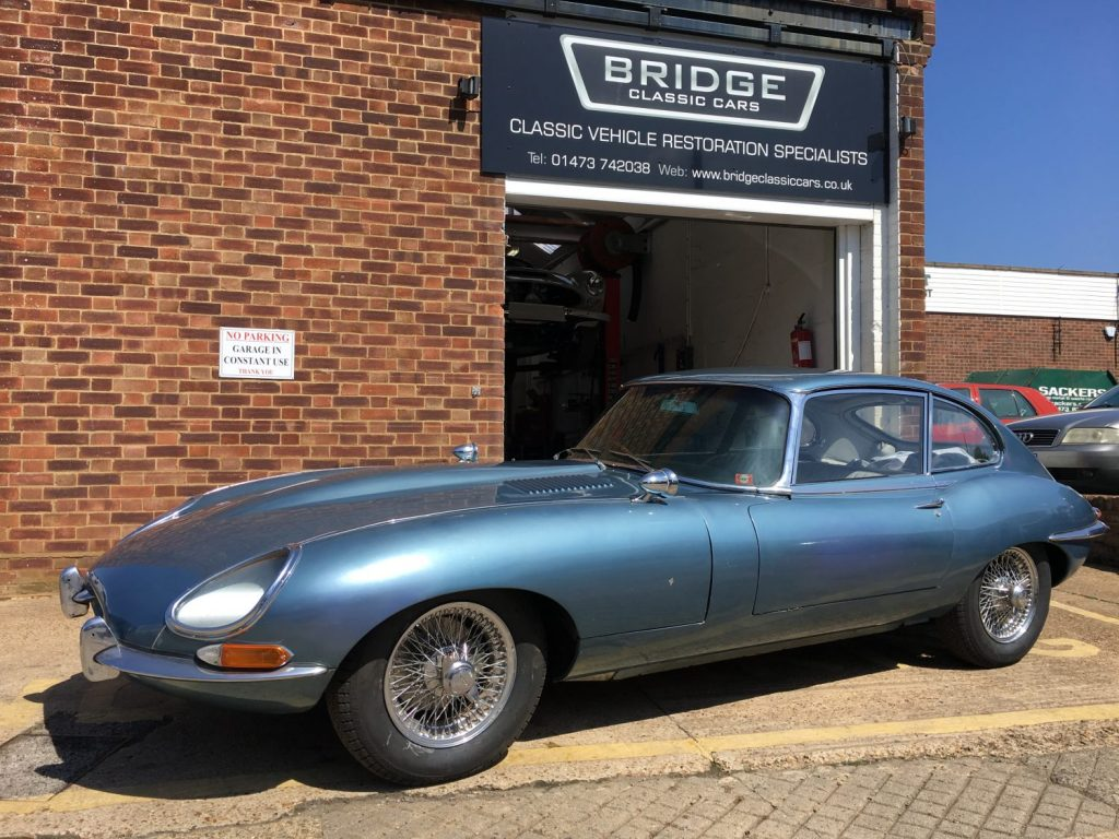 Jaguar E-Type recommission complete