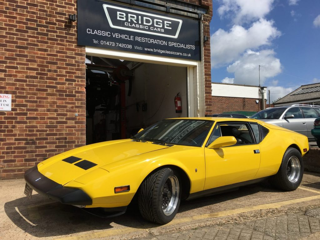 The return of our De Tomaso Pantera