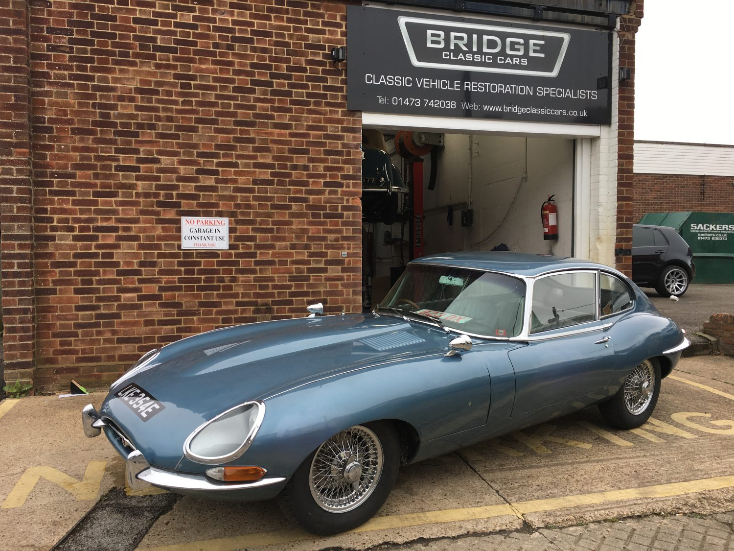 Official Property Of The Uk Once Again Bridge Classic Cars