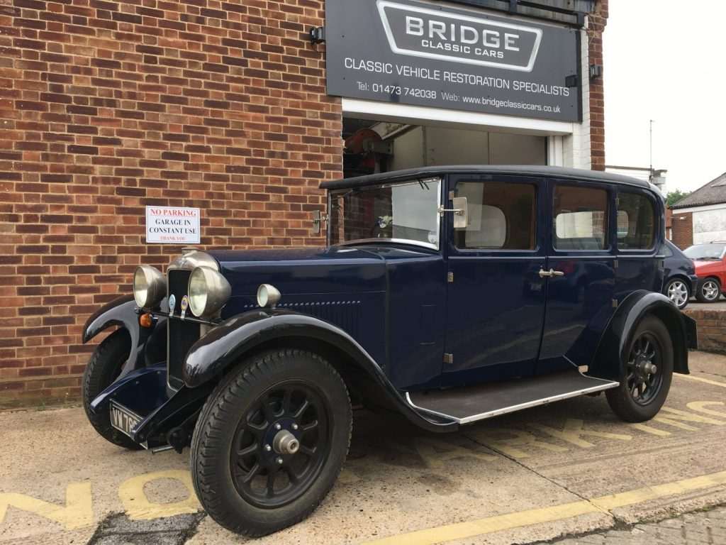 1928 Hillman 14 Re Commission Bridge Classic Cars