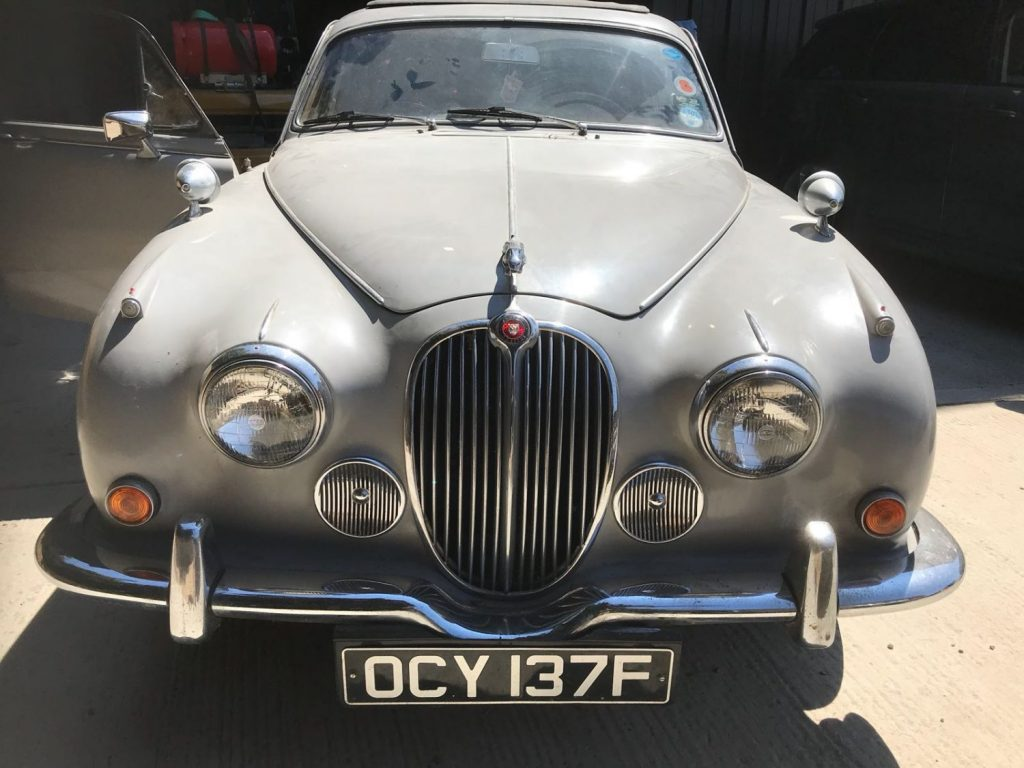 1968 Jaguar 240: More Images