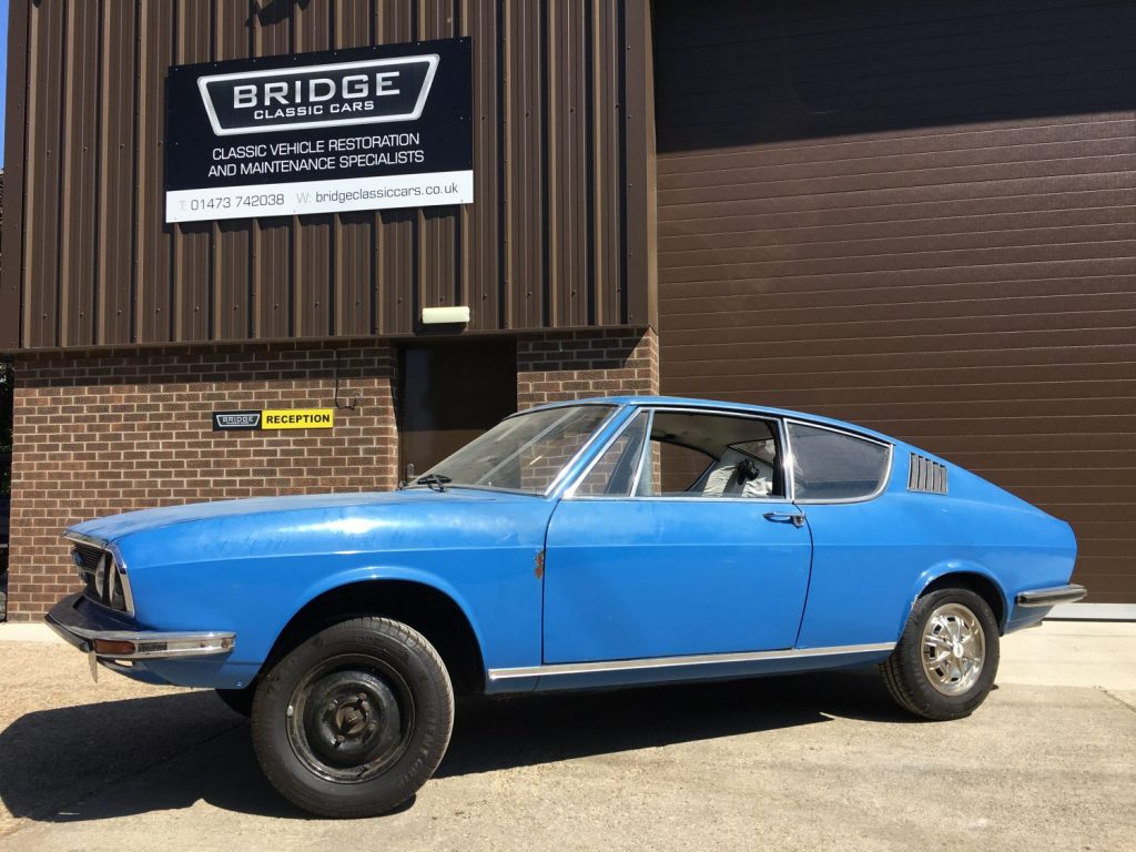 1974 Audi 100 Coupe S