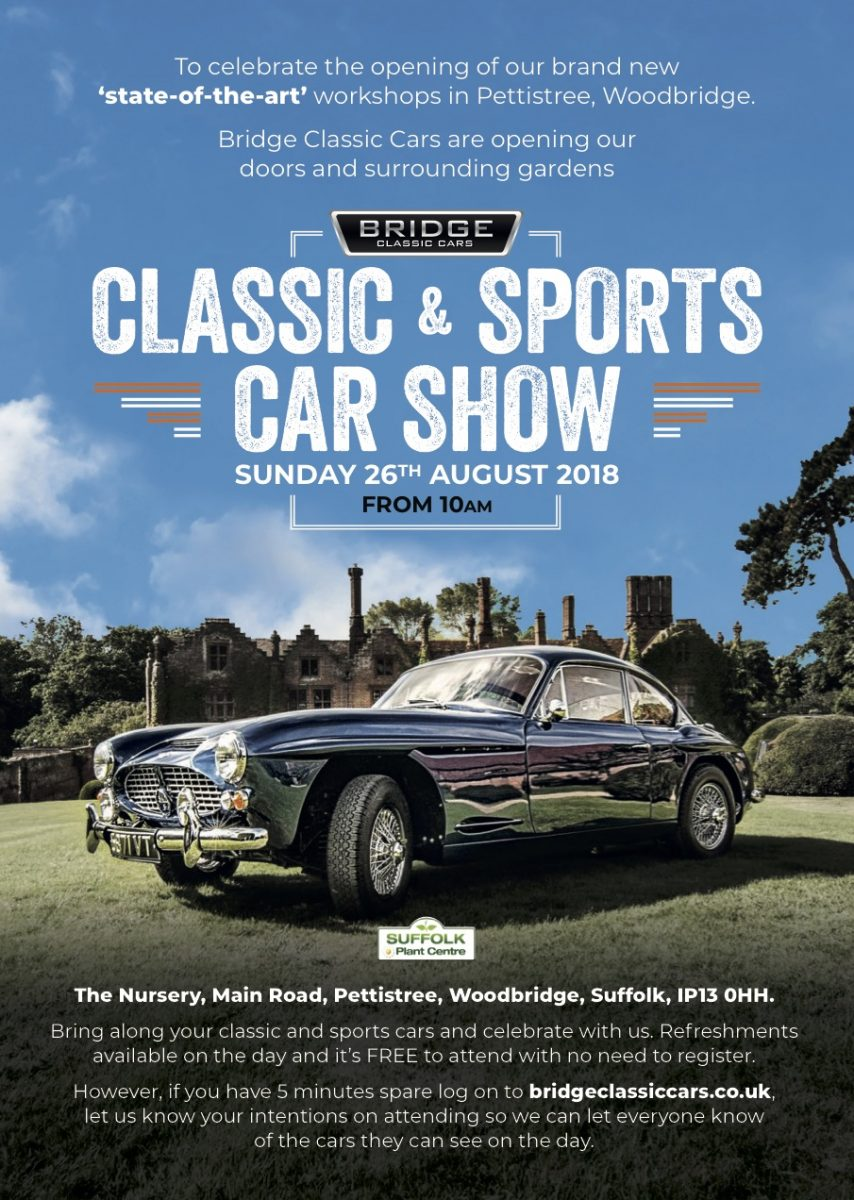 Classic Sports Car Show Sunday Th August Attendees Bridge - When is the car show