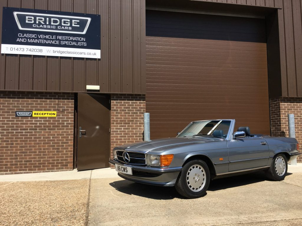 1987 Mercedes 500SL