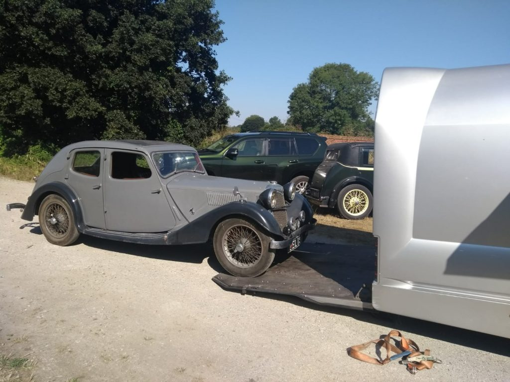 Recommissioning our 1935 Riley