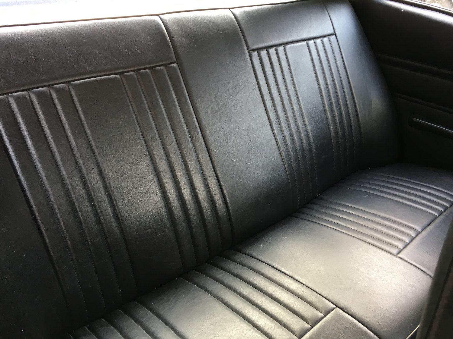 Ford Cortina 2000GT Tombstone Interior