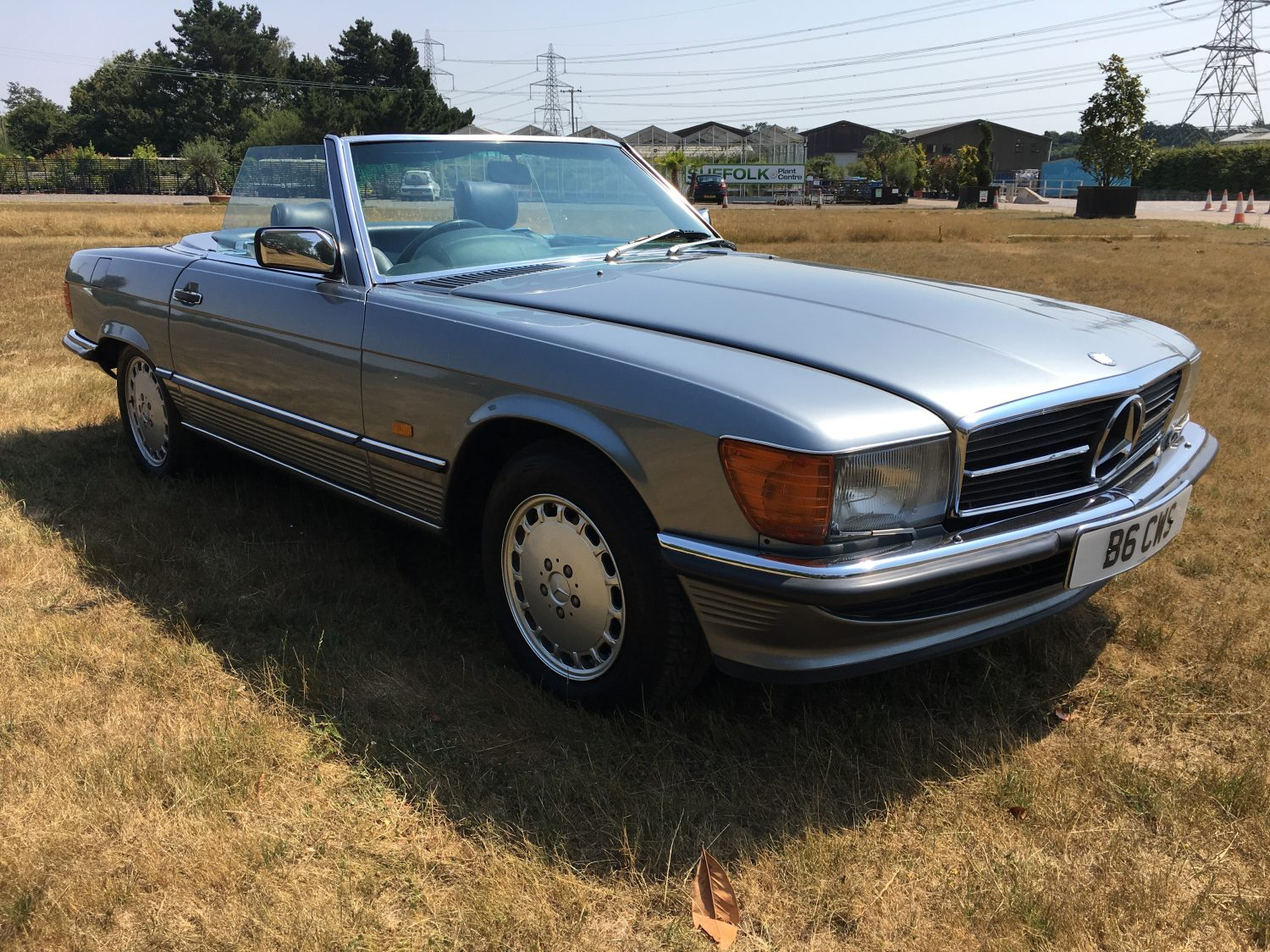 Mercedes SL500 – The very first clean
