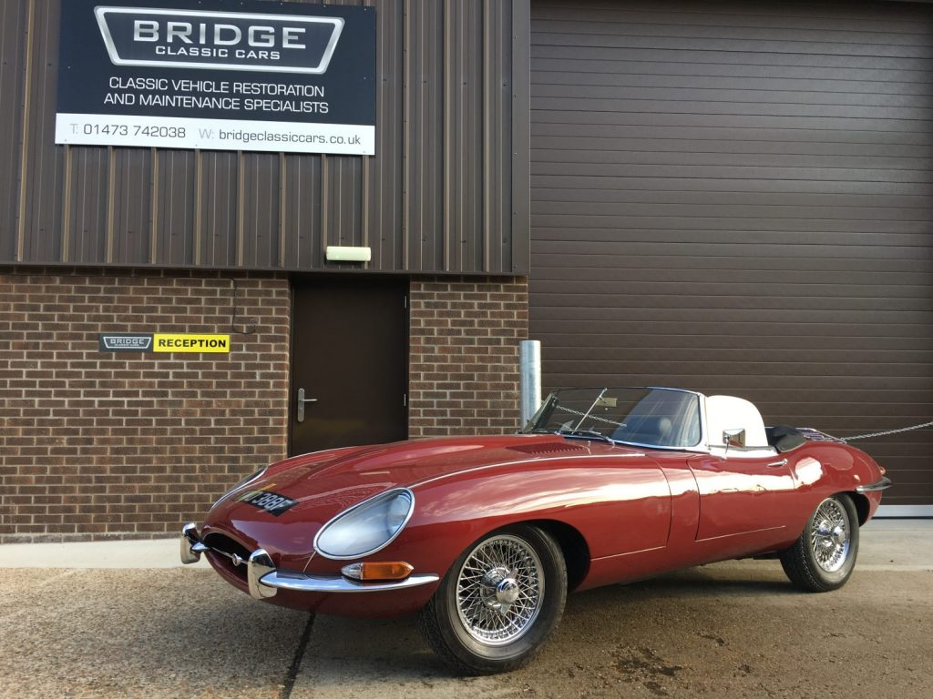 1968 Jaguar E-Type Series 1.5