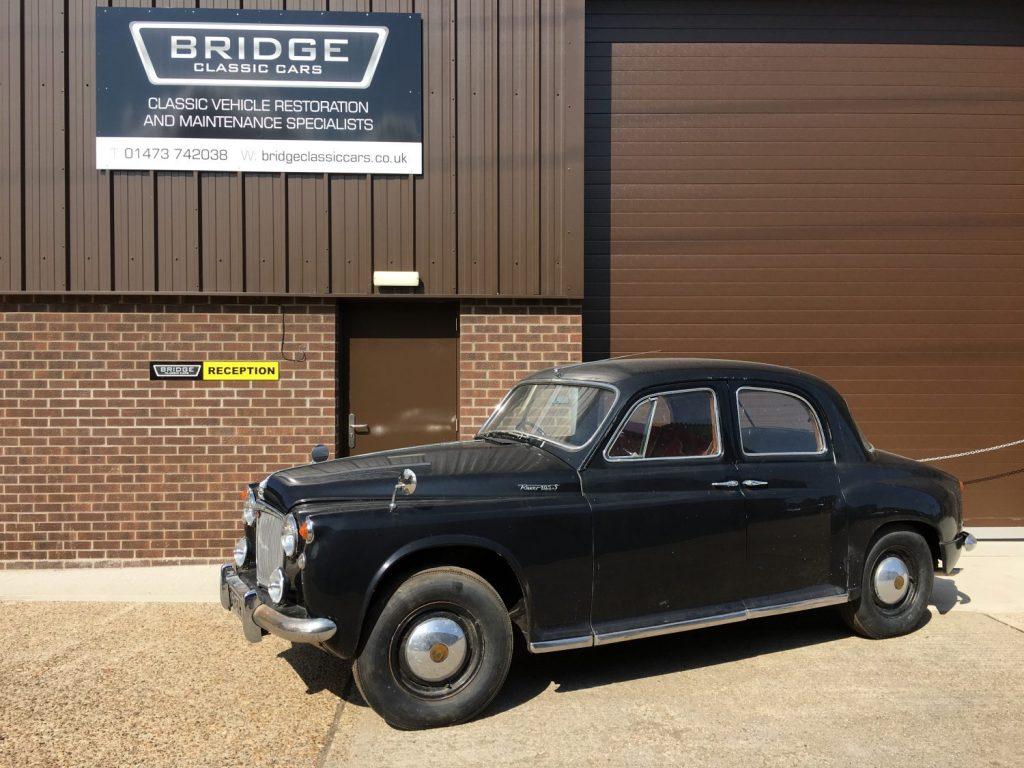 Barn Find: 1958 Rover P4 105S