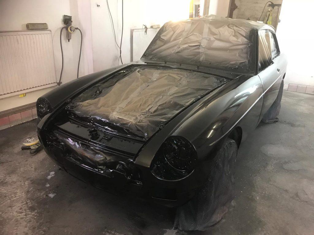 1976 MG BGT V8 Respray