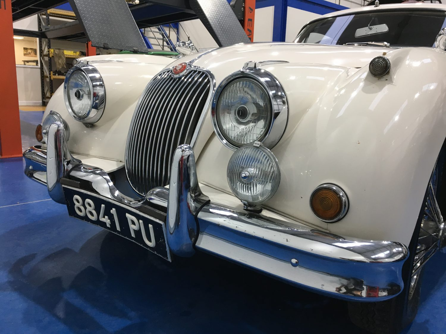 Detailing our 1961 Jaguar XK150 ready for re-sale