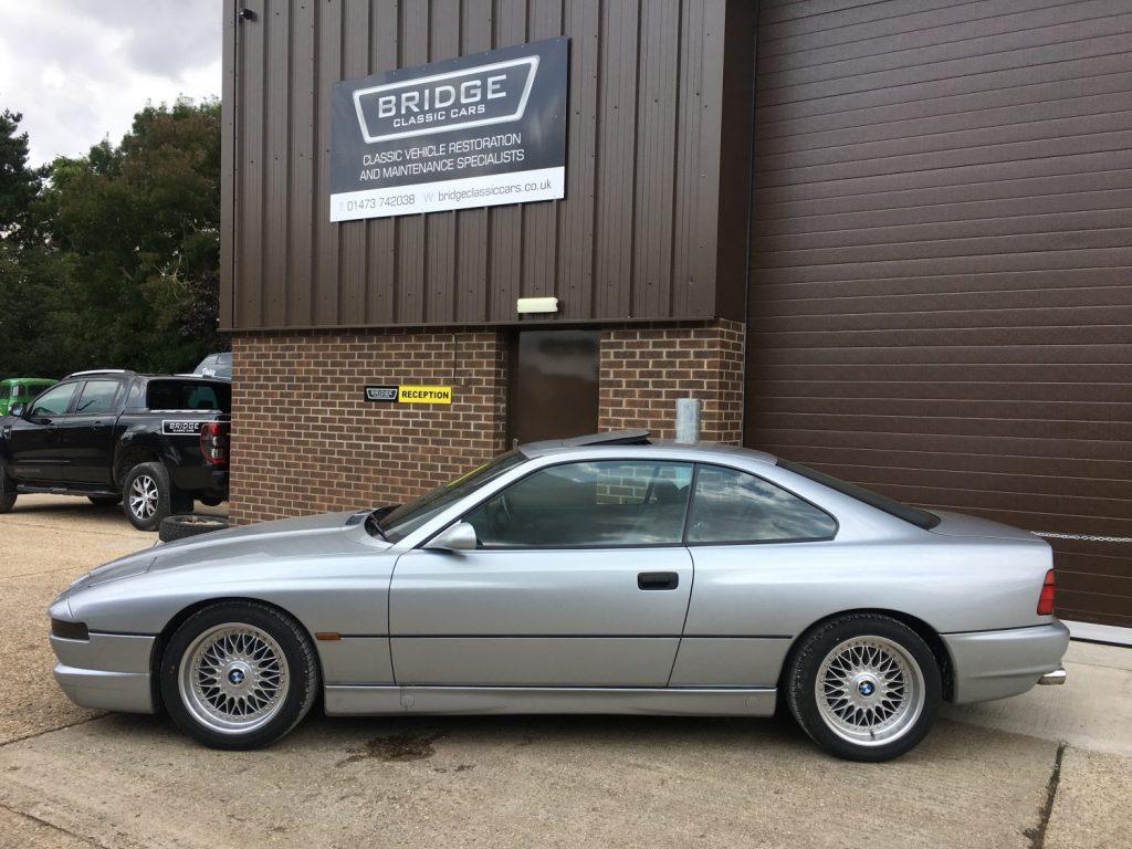 1998 BMW 840Ci suspension refurbishment