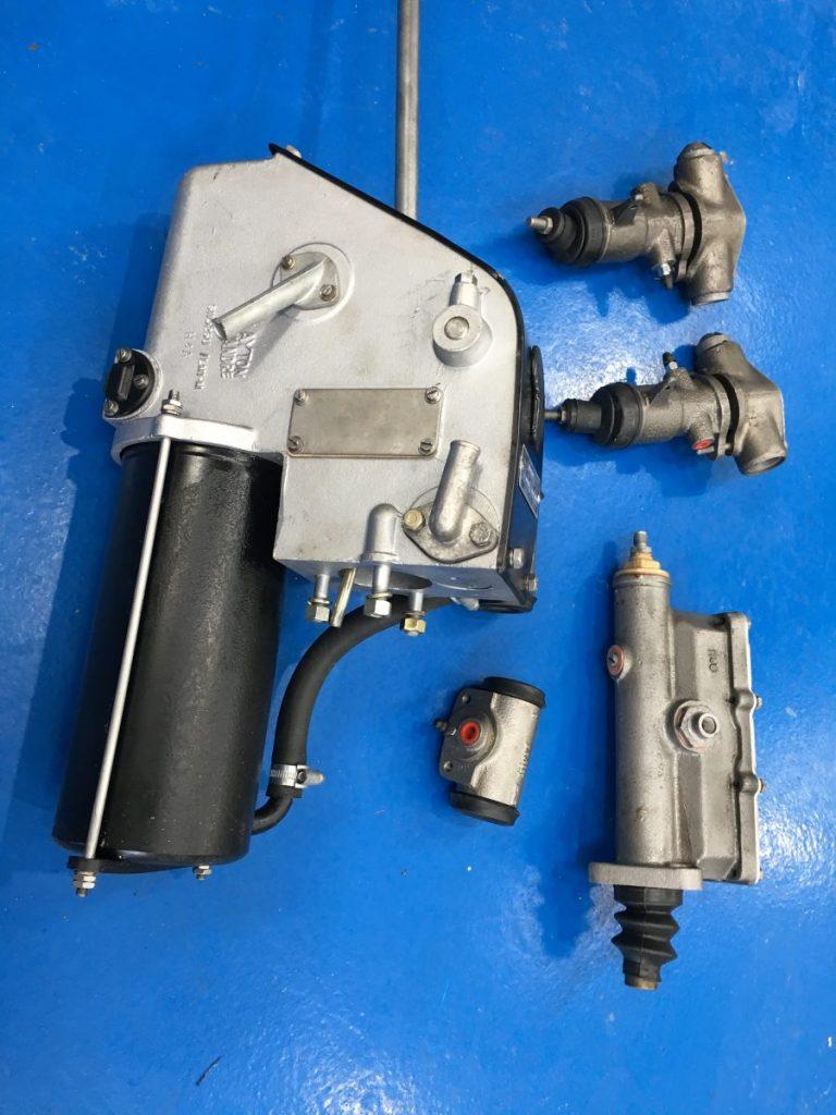 Rebuilt Bedford J Truck Servo, Master Cylinder and